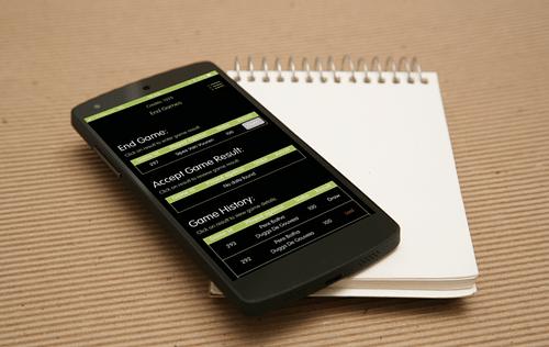 Golf Wallet App - Web Application