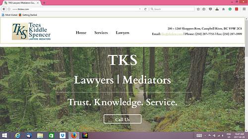 Website for a legal service firm - Creazione di siti web