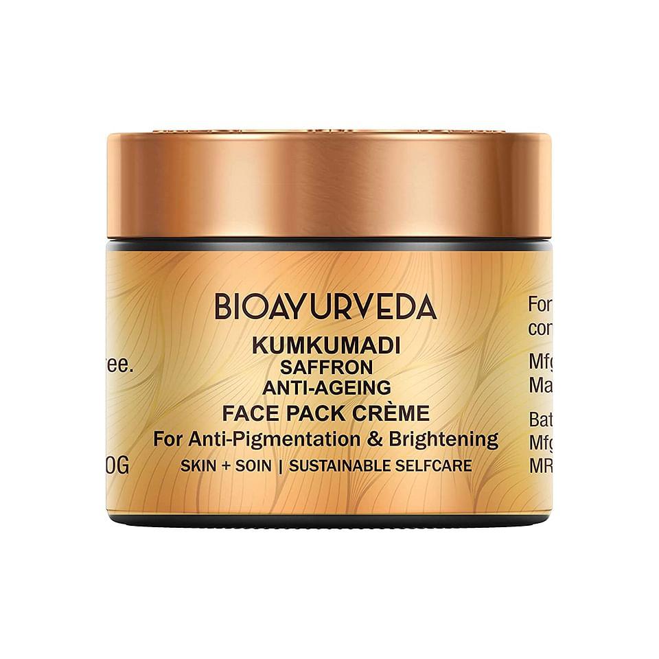Kumkumadi Saffron Anti-Ageing Face Pack Cream