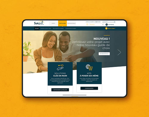 SUNZIL - Création de site internet