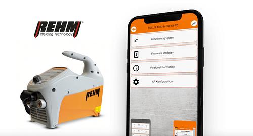 Industrie 4.0 für Schweißgeräte - Mobile App