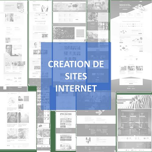 CREATION DE SITES INTERNET - Stratégie digitale