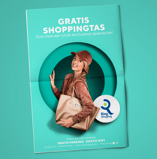 Ring shopping - Online Photography print - Image de marque & branding