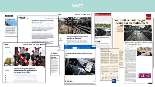 Waze against the lockdowns - Public Relations (PR)