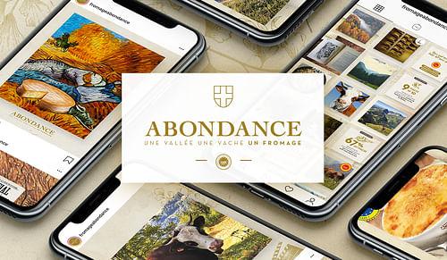 AOP ABONDANCE : CM et Social Ads - Stratégie de contenu
