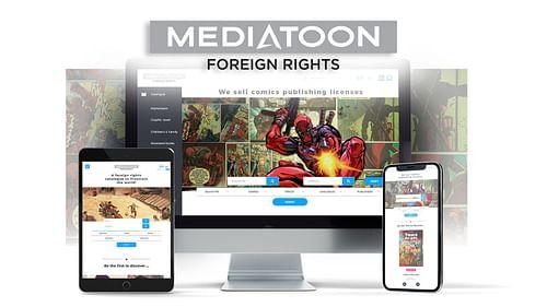 Création d'un thème WP   Mediatoon Foreign Rights - Création de site internet
