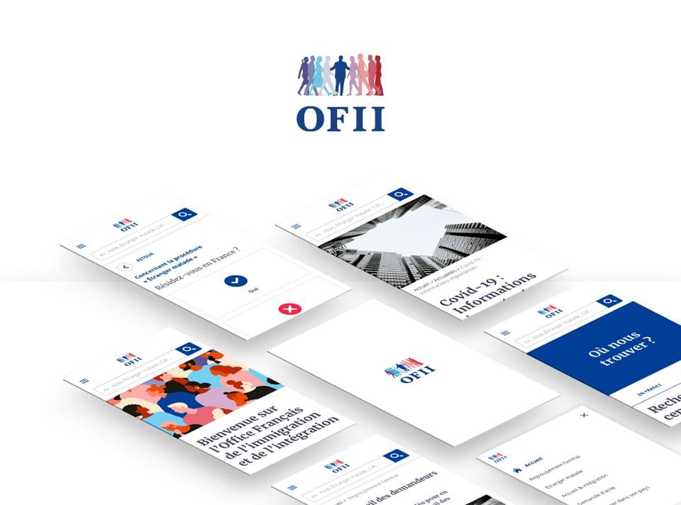 OFII - Refonte Site Vitrine & Communication