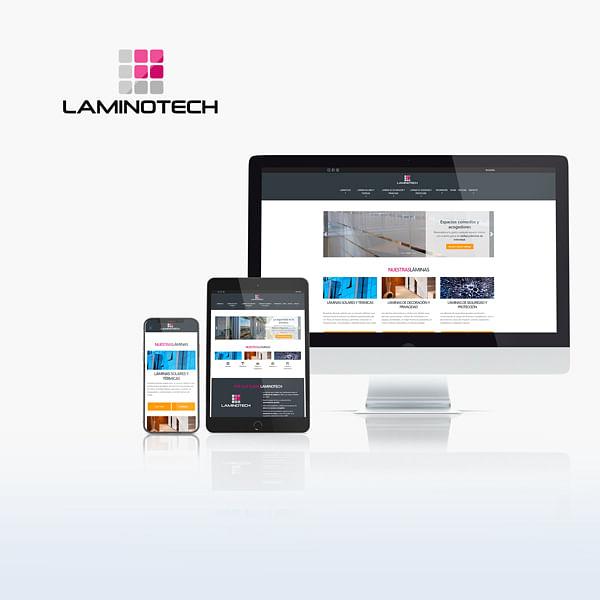 Diseño sitio web y e-comerce: Laminotech