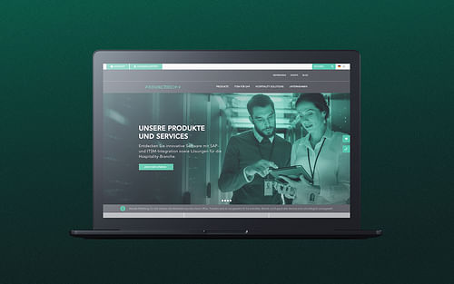Realtech – Corporate Website für die ITSM-Experten - Webseitengestaltung