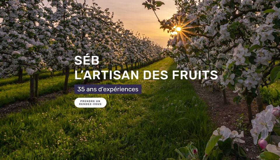 Supporting local market gardener - Website