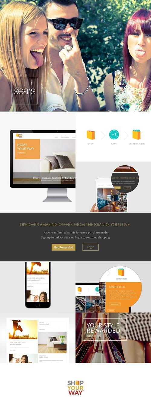 Shop Your Way - Website Creation