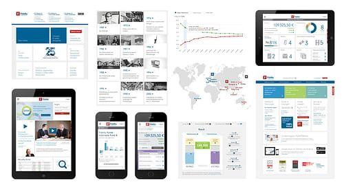 Fidelity International - Webanwendung