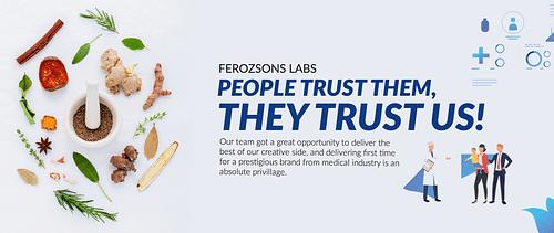 Ferozsons Labs - Website Creation