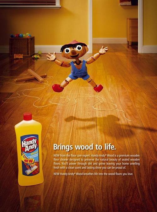 HANDY ANDY WOOD - Online Advertising