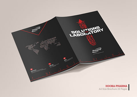 Company Profile Design for Hoora Pharma