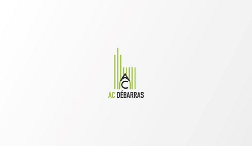 Conception d'identité visuelle pour AC Débarras - Design & graphisme