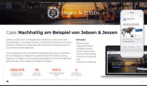 Jebsen & Jessen (GmbH & Co.) KG - Digitale Strategie