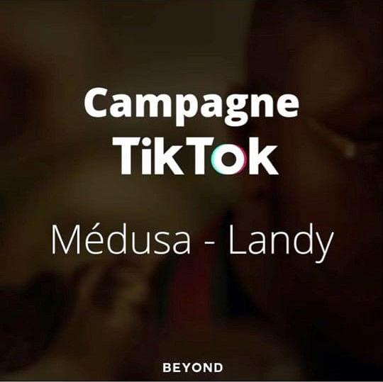 Campagne Tik Tok x Médusa by Landy