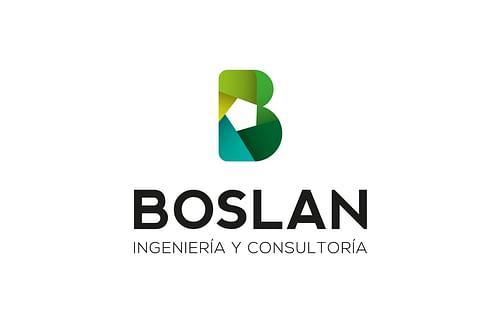 Identidad Corporativa BOSLAN - Creación de Sitios Web