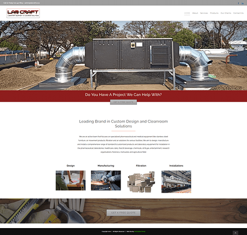 Web Design & Web Content Strategy - Website Creation