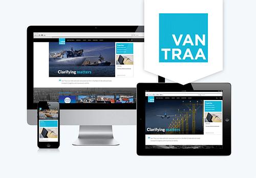 Website en intranet Van Traa Advocaten - Website Creatie