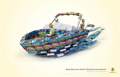 BRING BACK YOUR DREAMS - Advertising