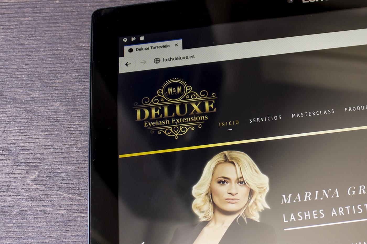 Desarollo Web - M&M Deluxe - Creación de Sitios Web
