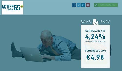 Webdevelopment & Online Marketing Actief65Plus - Website Creatie