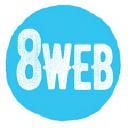 8WEB logo