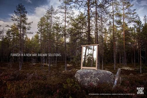 Furnish in a new way, 2 - Advertising