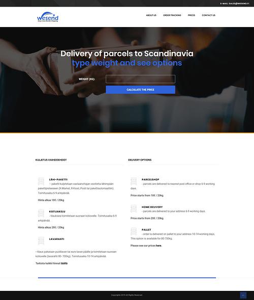 We Send - Website Creation