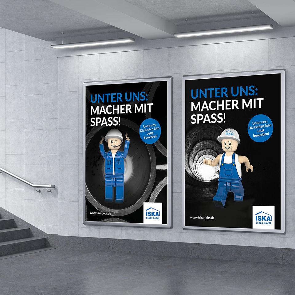 ISKA Schön Großflächen Kampagne