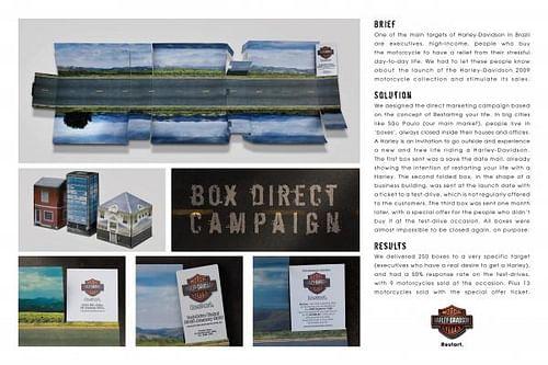 BOX DIRECT - Publicidad
