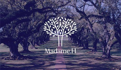 Refonte identité visuelle Madame H - Image de marque & branding
