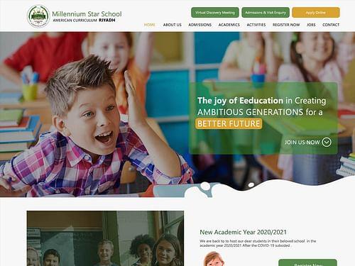 Millennium Star School - Website Creatie