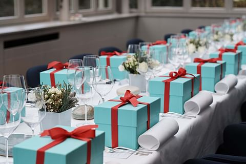 Tiffany & Co. Thanksgiving lunch for press