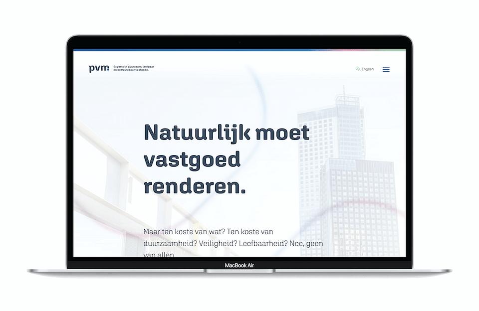 Corporate website PVM
