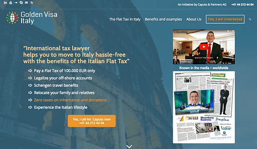 New website and SEO for law consultancy firm - Référencement naturel