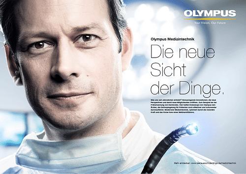 Corporate Kampagne OLYMPUS - Werbung