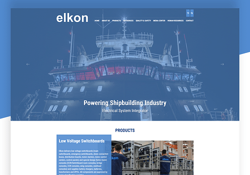 Elkon - Website Creation