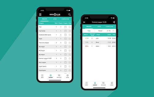 Sports Betting App - Mobile App