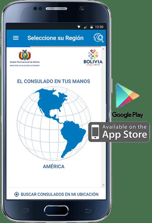 Application mobile pour les consulats de Bolivie - Application mobile