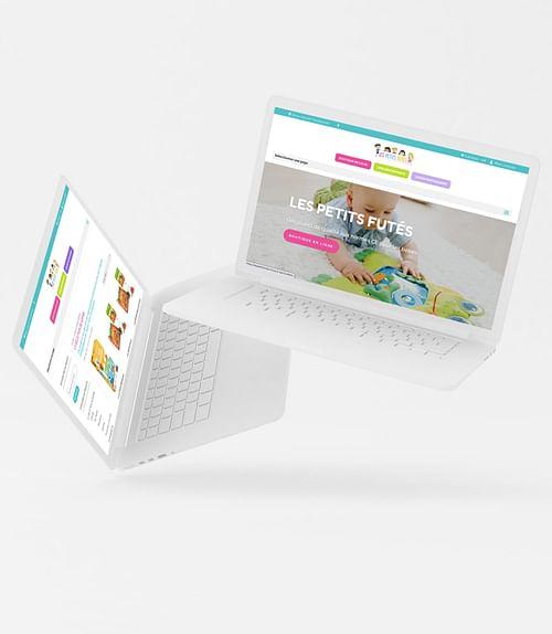 """Création du site e-commerce """"Lespetitsfutes.fr"""" - Création de site internet"""