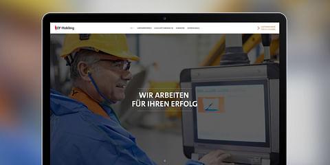 LY Holding – Branding, Website & Editorial Design