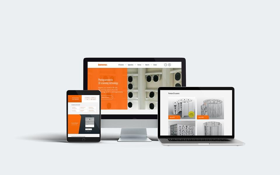 Neue Website für den 3D-Scanner-Anbieter botspot