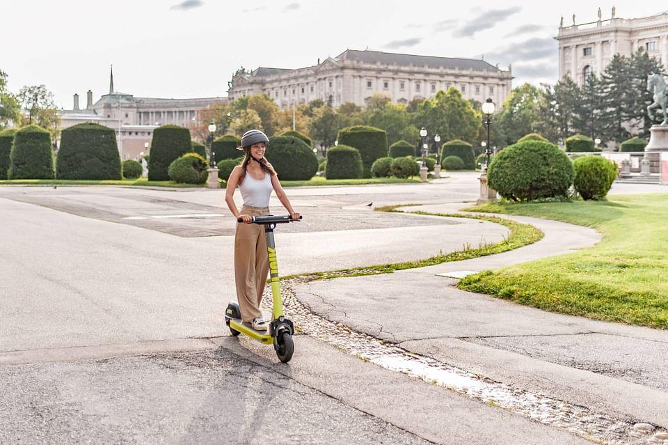 PR für LINK E-Scooter in Wien