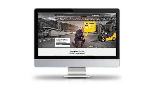 Jungheinrich - der bessere Job - Onlinewerbung