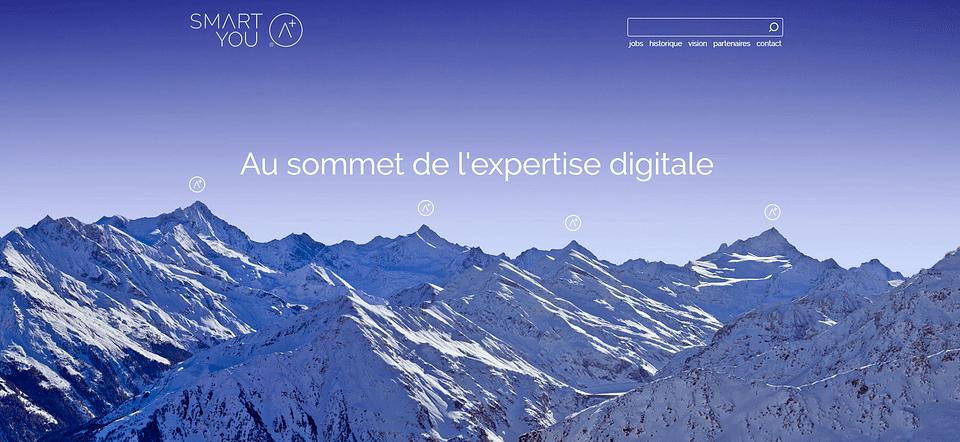 Refonte site web smartyou.ch