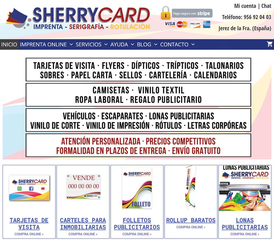 Sherrycard