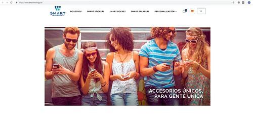 E-commerce: wsmarttechnology.es - E-commerce